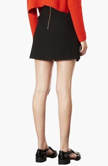 Alternate Image 2  - Topshop Pleated Miniskirt