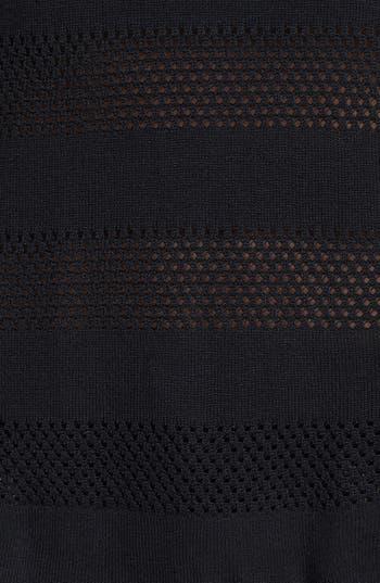 Alternate Image 3  - rag & bone/JEAN 'Genevieve' Mesh Stripe Sweater