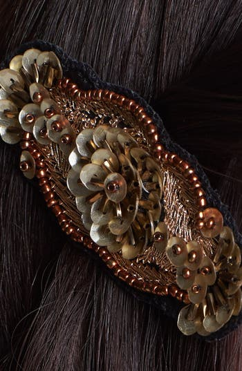 Alternate Image 3  - Berry 'Clara' Hair Clip