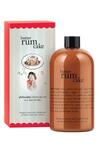 Main Image - philosophy 'butter rum cake' shampoo, shower gel & bubble bath