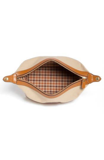 Alternate Image 4  - Ghurka 'Holdall' Twill Grooming Case