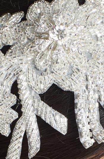 Alternate Image 2  - Wedding Belles New York 'Colleen' Faux Pearl & Crystal Mélange Headband