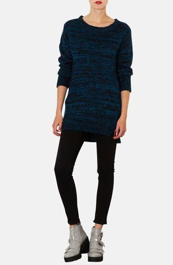 Alternate Image 5  - Topshop Side Zip Tweed Sweater