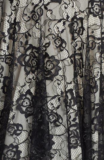 Alternate Image 3  - Way-In Lace Skater Dress (Juniors)