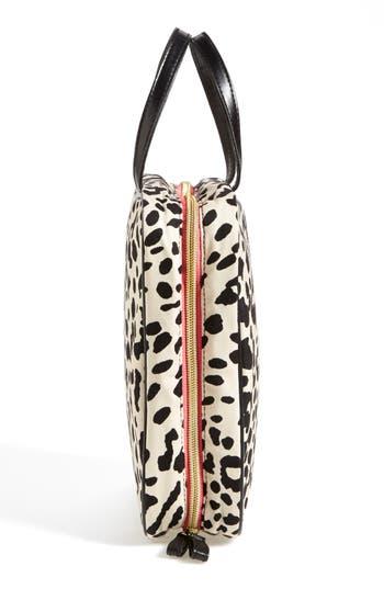 Alternate Image 3  - steph&co. 'Marissa - Leopard' Nylon Cosmetics Case (Nordstrom Exclusive)