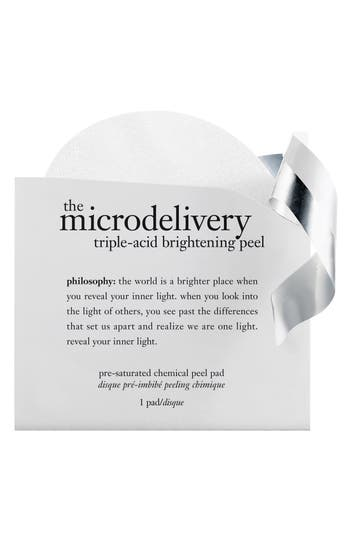 Alternate Image 1 Selected - philosophy 'microdelivery triple acid' brightening peel pads