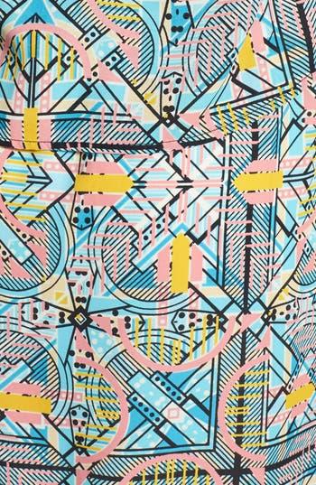 Alternate Image 3  - Everly Print Popover Dress (Juniors)