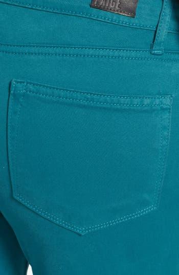 Alternate Image 3  - Paige Denim 'Verdugo' Ultra Skinny Jeans (Deep Turquoise)