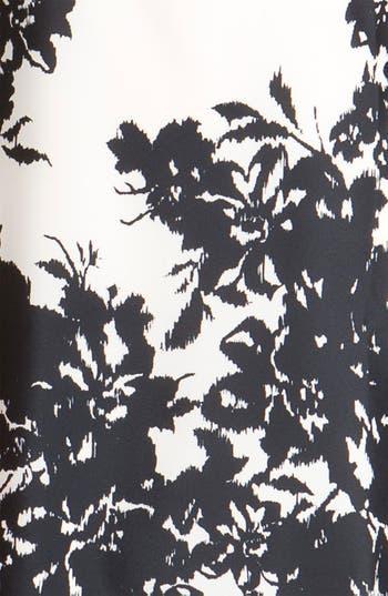 Alternate Image 3  - Eliza J Relief Print Crêpe de Chine Shift Dress