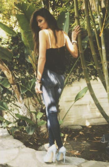 Alternate Image 6  - Hudson Jeans 'Collin' Distressed Skinny Stretch Jeans (Youth Vintage)
