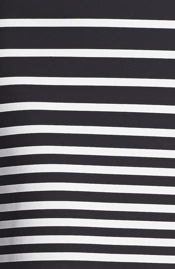 Alternate Image 4  - Halston Heritage Stripe Knit Pencil Skirt