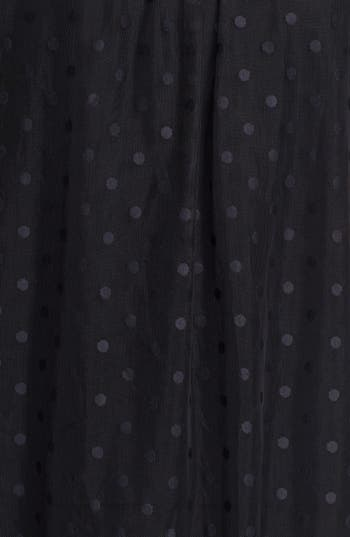Alternate Image 3  - Sweet Pea by Stacy Frati Dot Peasant Blouse (Plus Size)