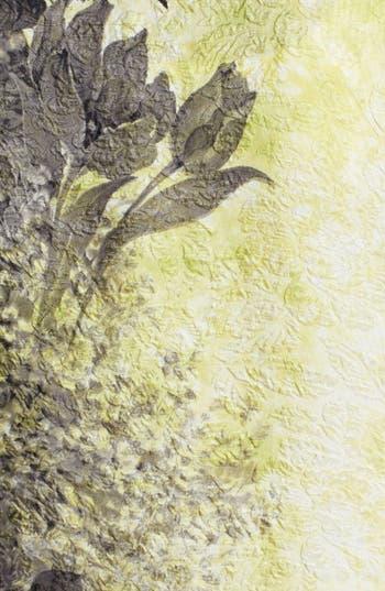 Alternate Image 3  - Citron Print Embossed Silk Tunic (Plus Size)