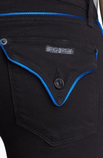 Alternate Image 3  - Hudson Jeans Piped Super Skinny Jeans (Cadet)