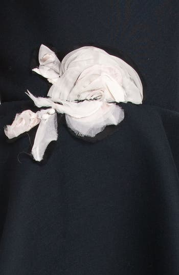 Alternate Image 3  - Lanvin Floral Appliqué Strapless Dress