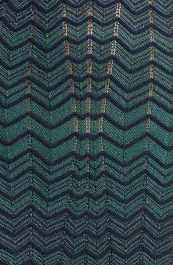Alternate Image 3  - M Missoni Cold Shoulder Zigzag Knit Dress