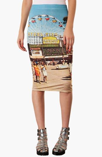 Alternate Image 1 Selected - Topshop 'Big Wheel' Tube Skirt