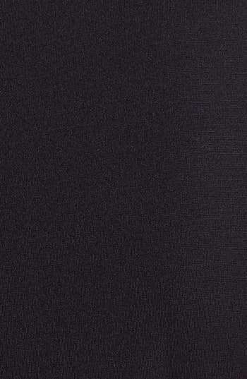 Alternate Image 3  - DKNYC Faux Leather Trim Shift Dress (Plus Size)