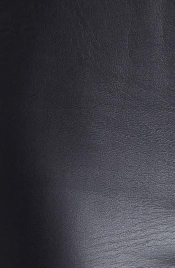 Alternate Image 3  - Trouvé Faux Leather Front Leggings