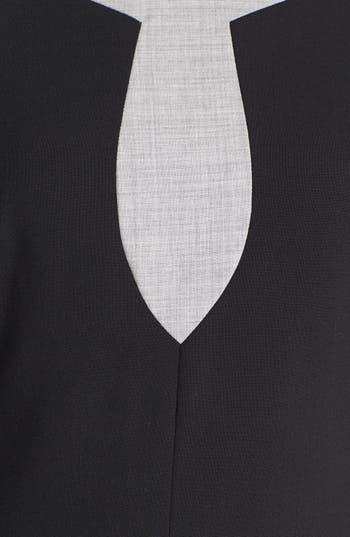 Alternate Image 3  - Rachel Roy Tropical Stretch Wool Shift Dress