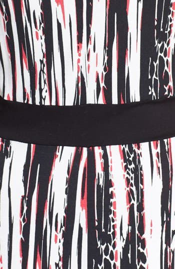Alternate Image 3  - Evans Graphic Print Jersey Maxi Dress (Plus Size)