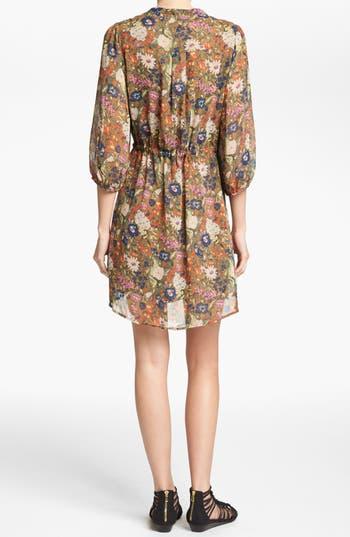 Alternate Image 2  - I. Madeline Floral Print Dress