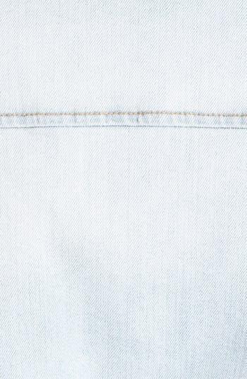 Alternate Image 3  - Rubbish® Denim & Faux Shearling Coat (Juniors)