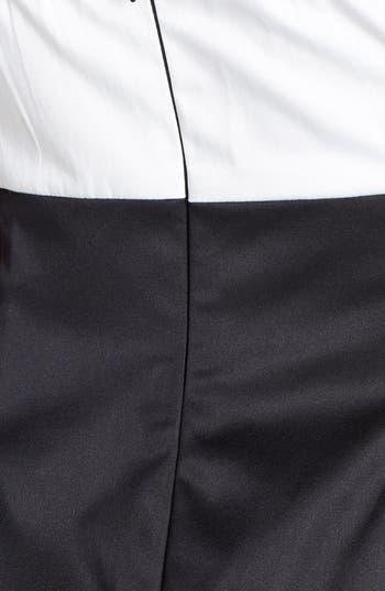 Alternate Image 3  - Trixxi Bow Front Strapless Dress (Juniors)