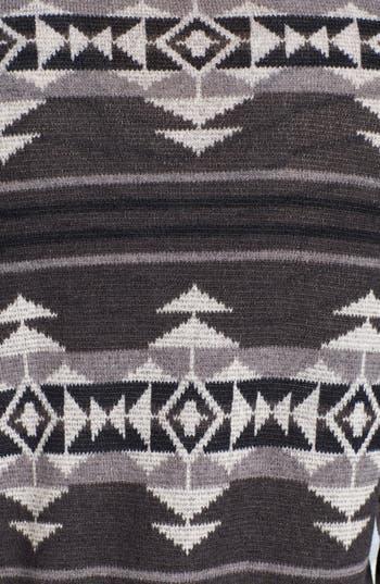 Alternate Image 3  - Painted Threads Geometric Pattern Sweatshirt (Juniors)