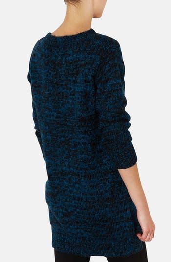 Alternate Image 2  - Topshop Side Zip Tweed Sweater