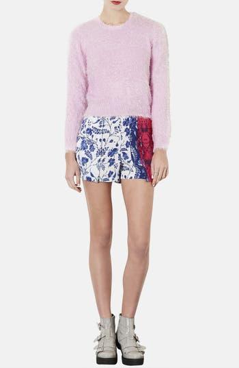 Alternate Image 4  - Topshop Textured Sweater