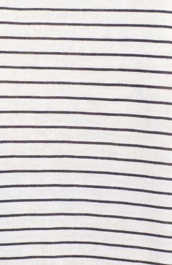 Alternate Image 3  - Project Social T Pocket Stripe Tee (Juniors)
