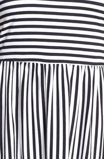 Alternate Image 4  - Billabong 'Early Sunshine' Stripe Skater Dress (Juniors)