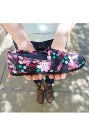 Alternate Image 5  - TOMS 'Classic - Night Lights' Slip-On (Nordstrom Exclusive) (Women)