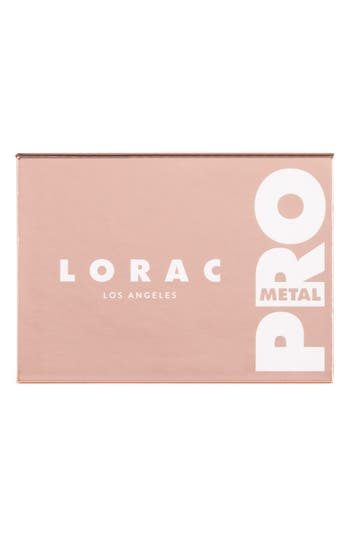 Alternate Image 3  - LORAC Rose Gold PRO Metal Palette (Limited Edition)