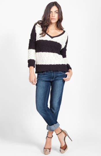 Main Image - Free People Sweater & Paige Jeans