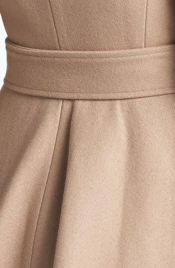 Alternate Image 2  - Ted Baker London Wool Blend Wrap Coat