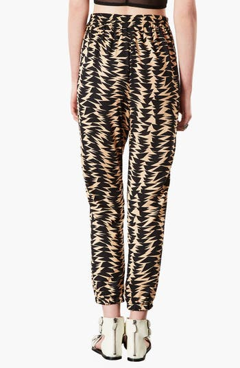 Alternate Image 2  - Topshop Geometric Print Jogging Pants