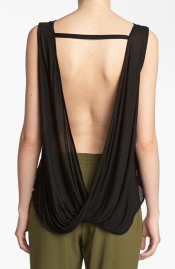 Alternate Image 1 Selected - ASTR Twist Back Knit Tank