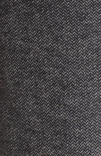 Alternate Image 3  - Armani Collezioni Herringbone Jersey Skirt