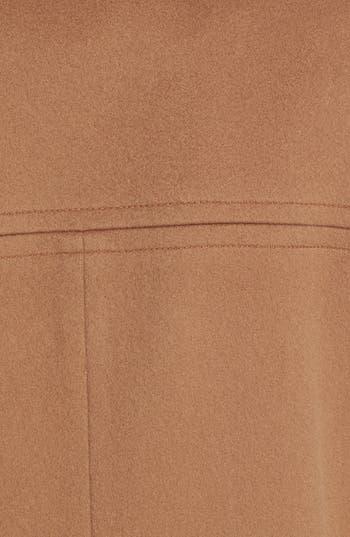 Alternate Image 3  - Fleurette Stand Collar Wool Coat
