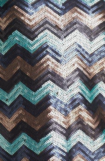 Alternate Image 3  - Ella Moss Sequin Zigzag Top