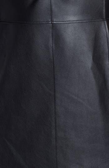 Alternate Image 3  - Velvet by Graham & Spencer Faux Leather Front Sheath