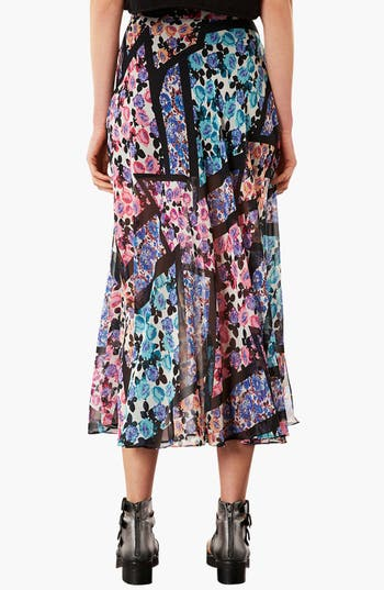 Alternate Image 2  - Topshop 'Cut About' Floral Maxi Skirt