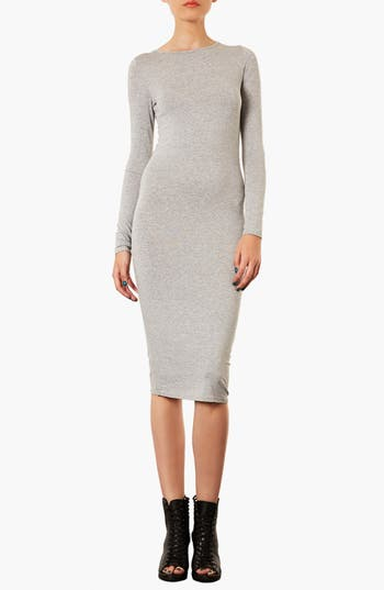 Alternate Image 1 Selected - Topshop Midi Length Body-Con Dress