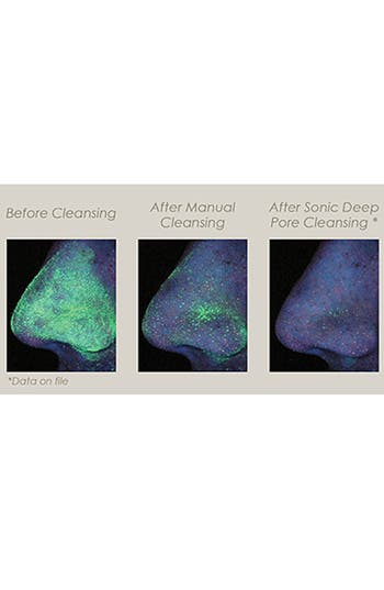 Alternate Image 3  - CLARISONIC® Deep Pore Cleansing Replacement Brush Heads for Normal to Oily Skin (Set of 4) ($100 Value)