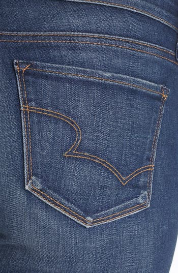 Alternate Image 3  - Big Star 'Alex' Stretch Skinny Jeans (Six Year Tide) (Petite)