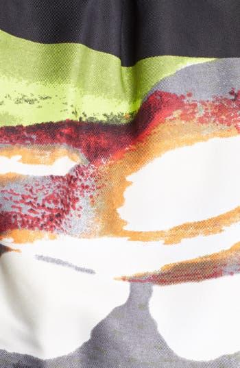 Alternate Image 3  - Ellen Tracy Print Fit & Flare Dress