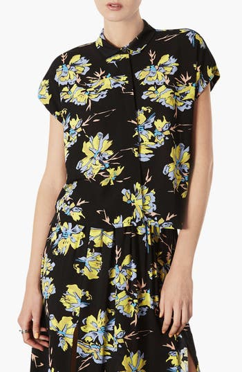 Alternate Image 1 Selected - Topshop 'Sophie' Short Sleeve Top
