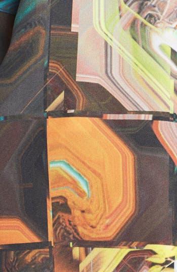Alternate Image 3  - Ted Baker London Retro Square Print Skinny Scarf